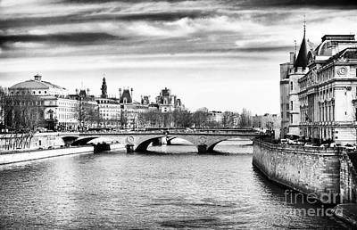 Of Artist Photograph - La Seine by John Rizzuto