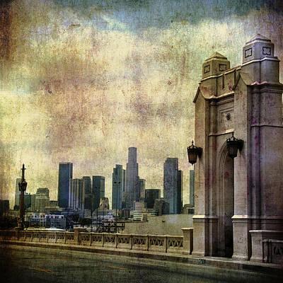 Los Angeles Skyline Original by Sean Sepehr