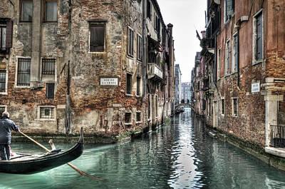 Tourism Photograph - La Veste In Venice by Marion Galt