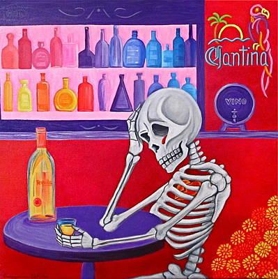 Painting - La Vida No Vale Nada by Evangelina Portillo