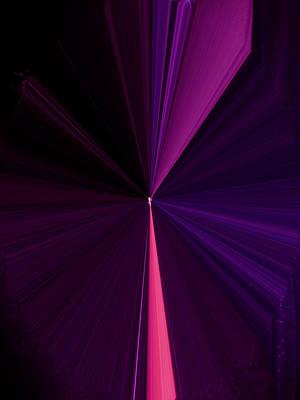 Visual Communication Digital Art - La Vie En Rose 04 3.23.14 by Rozita Fogelman