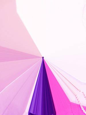 Visual Communication Digital Art - La Vie En Rose 05  3.23.14 by Rozita Fogelman