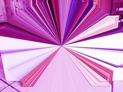 Visual Communication Digital Art - La Vie En Rose 20   3.23.14 by Rozita Fogelman