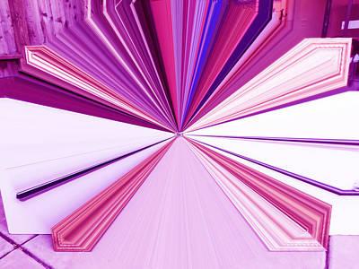 Visual Communication Digital Art - La Vie En Rose 21   3.23.14 by Rozita Fogelman