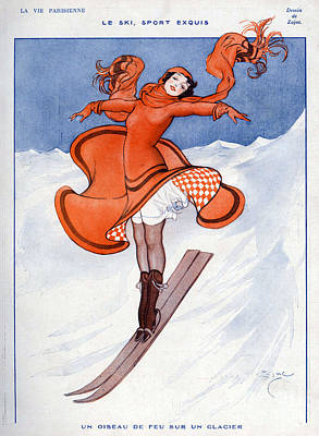 10s Drawing - La Vie Parisienne 1922 1910s France by The Advertising Archives