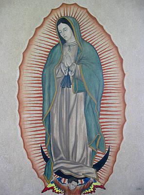 La Virgen De Guadalupe Print by Lynet McDonald