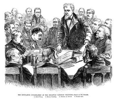 Labor Investigation, 1886 Print by Granger