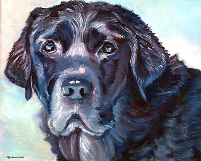Labrador Retriever Print by Lyn Cook