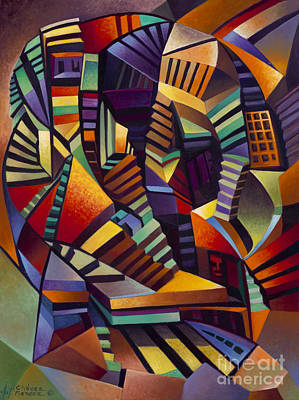 Labrynth I Original by Ricardo Chavez-Mendez