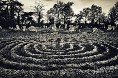 Labyrinth Photograph - Labyrinth by Tim Gainey
