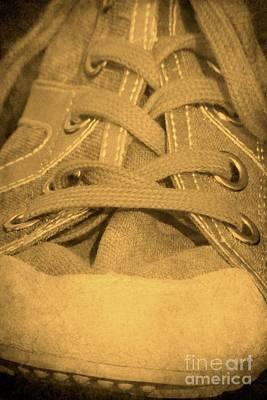 Sneaker Photograph - Laces by Sophie Vigneault