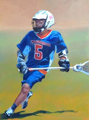 Lacrosse Painting - Lacrosse I by Dorothy Nalls