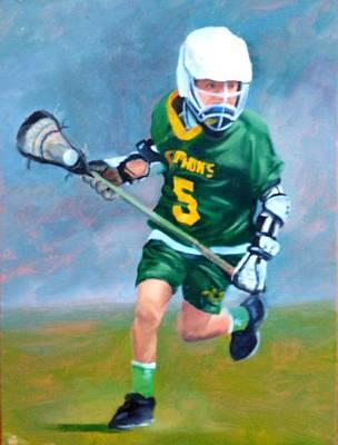 Lacrosse Painting - Lacrosse II by Dorothy Nalls