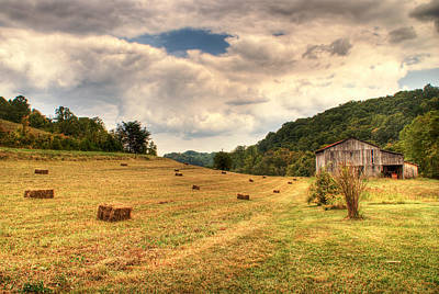 Lacy Farm Morgan County Kentucky Print by Douglas Barnett