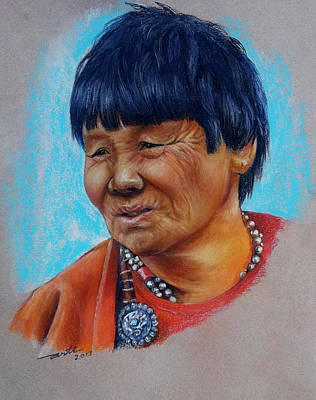 Ladakh Woman Original by Arti Chauhan