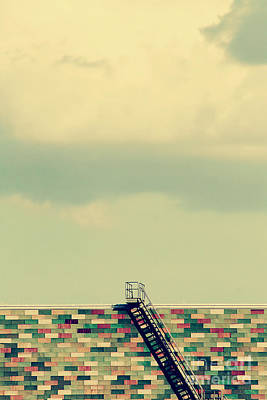 Ladder To Nowhere  Print by Trish Mistric