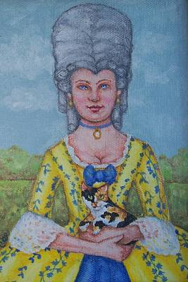 Lady Abigail Print by Beth Clark-McDonal
