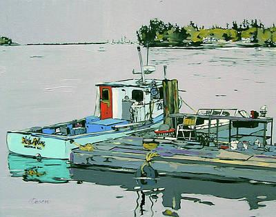 An Island Painting - Lady Arlene  Nfs by Rob Owen