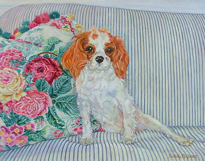 Paws Painting - Lady Bug Conroy by Kimberly McSparran