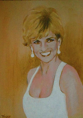 Wales Mixed Media - Lady Di - 1996 by Mirko Gallery