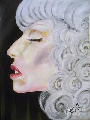 Lady Ga Ga Painting - Lady Ga Ga by Liam O Conaire