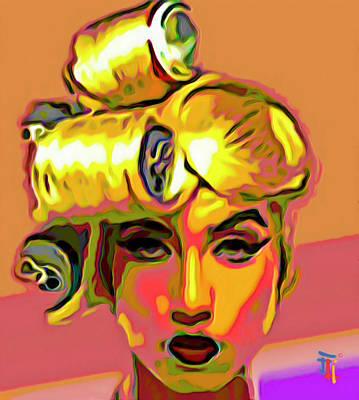 Lady Gaga Print by  Fli Art