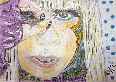 Lady Gaga Painting - Lady Gaga by Kathy Marrs Chandler