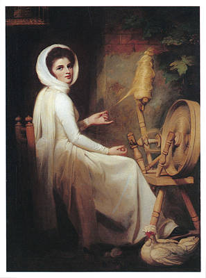 Romney Painting - Lady Hamilton by George Romney