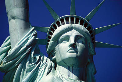 Statue Photograph - Lady Liberty by Jon Neidert
