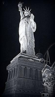 Lady Liberty Print by Kay Novy