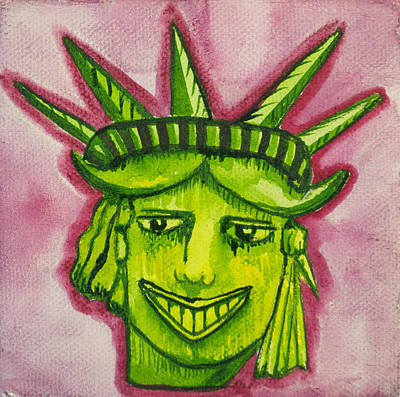 Lady Liberty Tillie Original by Patricia Arroyo
