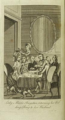 Lady Maria Bayntun Print by British Library
