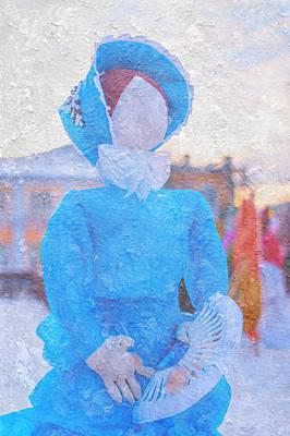 Lady Maslenitsa. Russia Print by Jenny Rainbow