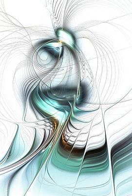 Surreal Digital Art - Lady Of The Lake by Anastasiya Malakhova