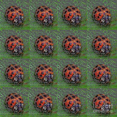Ladybug Photograph - Ladybug Pop Art by Kerri Farley