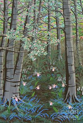 Painting - Ladyslippers by Lori Ziemba