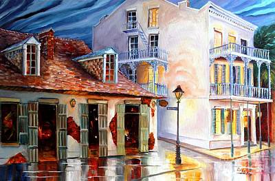 Lafitte's Guest House On Bourbon Print by Diane Millsap