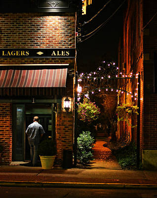 Lagers And Ales Print by Laura Fasulo