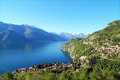 Lake Como Photograph - Lago Di Como Italy  by Brooke Ryan