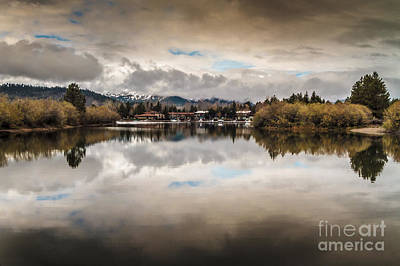 Lagoon At Cove East Print by Mitch Shindelbower
