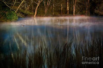 Lagoon Sunrise Print by Doug Sturgess