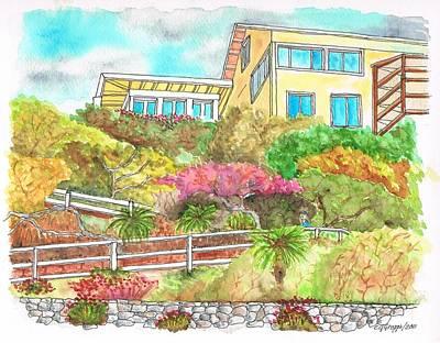 Laguna Beach - California Print by Carlos G Groppa