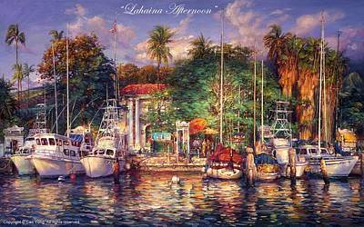 E 20 Painting - Lahaina Afternoon by Cao Yong
