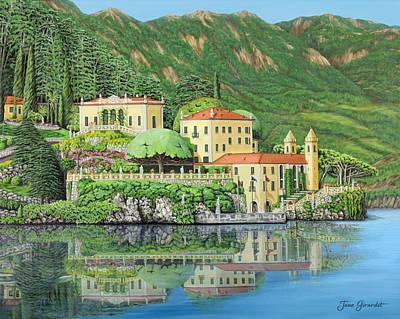 Lake Como Painting - Lake Como Morning by Jane Girardot