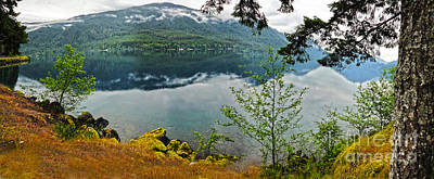 Lake Crescent - Washington - 02 Print by Gregory Dyer
