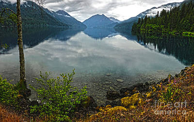 Lake Crescent - Washington - 04 Print by Gregory Dyer
