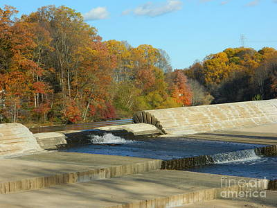 Lake Elkhorn Dam Print by Emmy Marie Vickers
