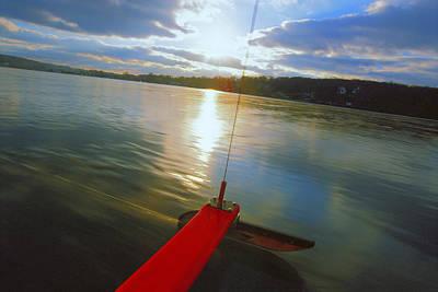 Sail Boat Painting - Blade Runner - Lake Geneva Wisconsin by Bruce Thompson