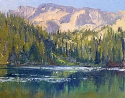 Lake George Print by Sharon Weaver