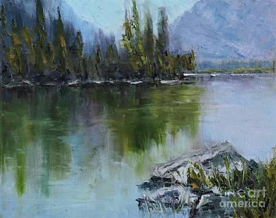 Lake Irwin Print by Linda Mooney